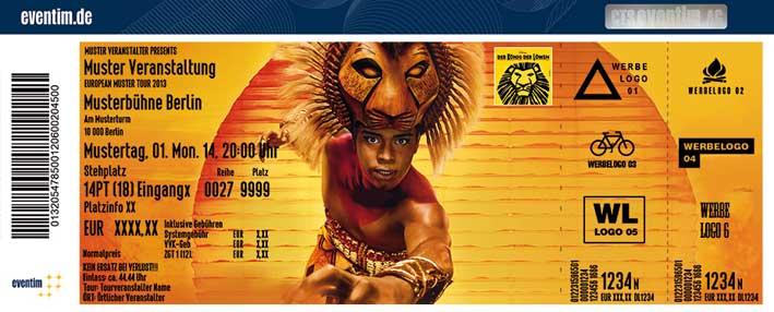 König Der Löwen Tickets