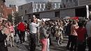 Münster Flashmob TS Husemeyer tanzt Wiener Walzer