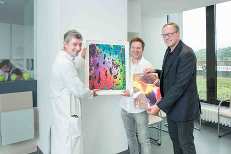 Kunst in der EMAH – Neuer Patientenbereich wird eröffnet