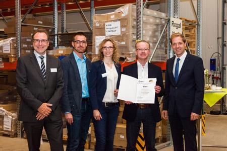Auch Kreis Coesfeld ist ÖKOPROFIT-Betrieb 2017 - Umweltschutz verbessert und Kosten eingespart