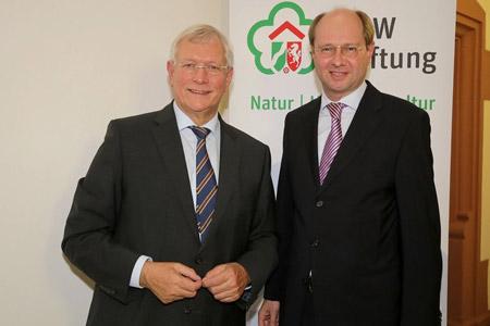 Landrat Dr. Olaf Gericke vertritt kommunale Interessen in der NRW-Stitfung