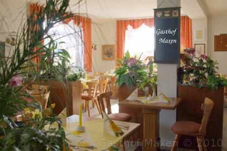 Speisen im Gasthof Maxen - Wir freuen uns auf Sie!