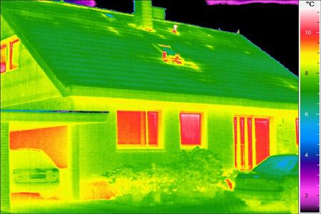 """Sonderaktion der Initiative """"Clever wohnen im Kreis Coesfeld"""": Einsparpotenziale mit Thermografie aufdecken"""