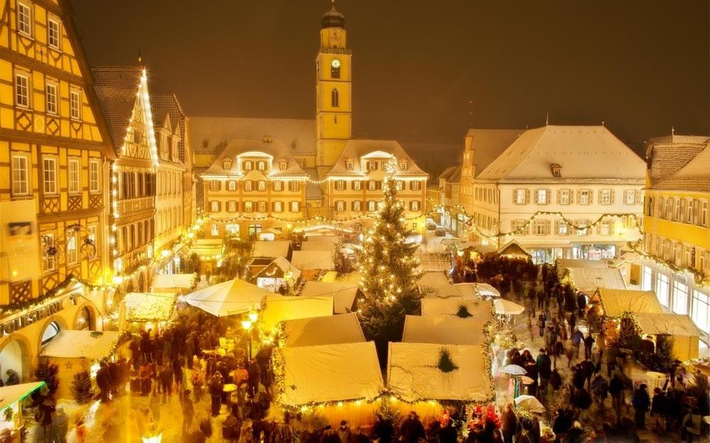 Wintermagie in Bad Mergentheim