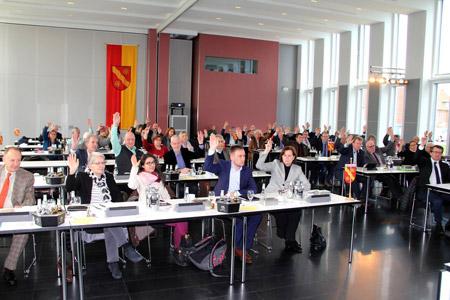 Kreistag beschließt Haushalt 2018 mit großer Mehrheit