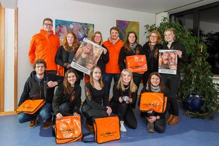 """Die """"Voll ist out""""-Teams kommen - Städtische Kampagne wirbt für maßvollen Umgang mit Alkohol"""