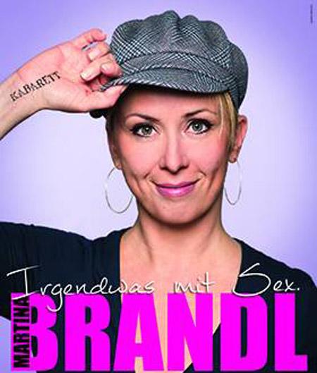 """Martina Brandl gastiert mit ihrem Programm """"Irgendwas mit Sex"""" in der Ignatz-Bubis-Aula der VHS Rheine"""