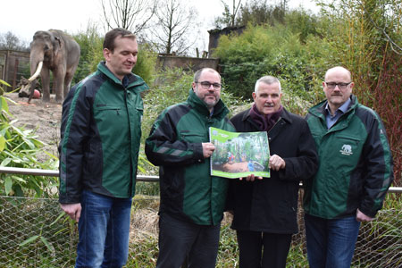 Das Konzept Masterplan 2030 plus für den Allwetterzoo Münster ist fertig