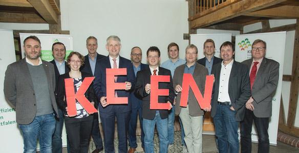 Netzwerk für mehr Energieeffizienz - Die Stadt Beckum ist dabei.