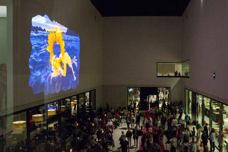 LWL-Museum für Kunst und Kultur zeigt Videoinstallation im Innenhof