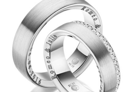 Laser / Diamant Gravur bei Juwelier Lehmkühler