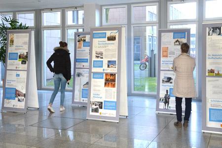 """Wanderausstellung zum """"Tag der Archive 2018"""" im Steinfurter Kreishaus"""