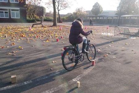Fahrradsicherheitstraining in Rheine startet
