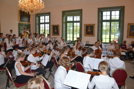 Musikfreizeit auf Schloss Nordkirchen