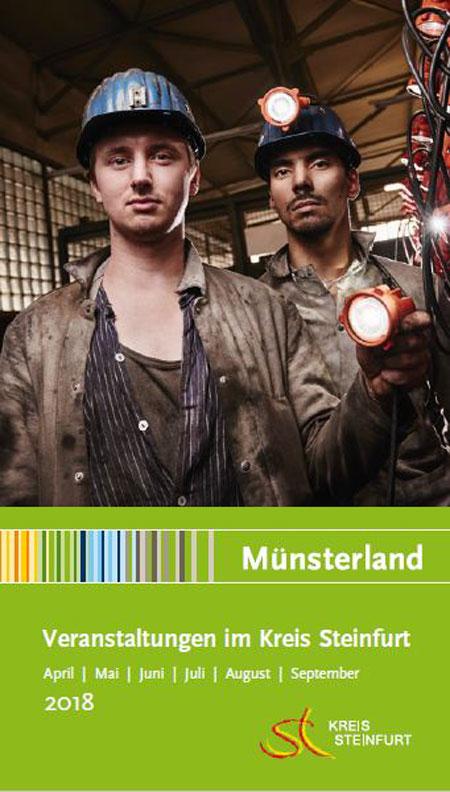 Ausstellungen, Konzerte und Theater: Veranstaltungskalender des Kreises Steinfurt ab sofort erhältlich