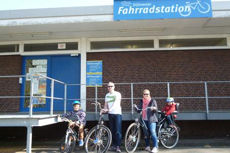 Saisoneröffnung an der Dülmener Fahrradstation