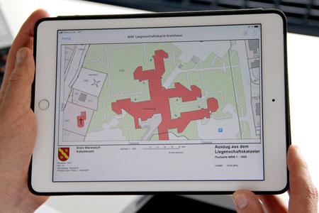 Mit wenigen Klicks zur amtlichen Liegenschaftskarte: Kreis Warendorf führt Online-Bezahlmöglichkeit ein