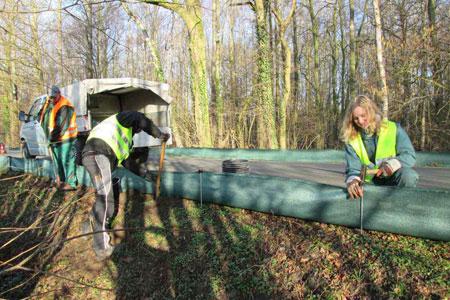 Spannende Einblicke in praktische Umweltschutzarbeit