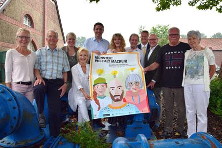 """Wettbewerb """"Münster: Vielfalt machen!"""""""