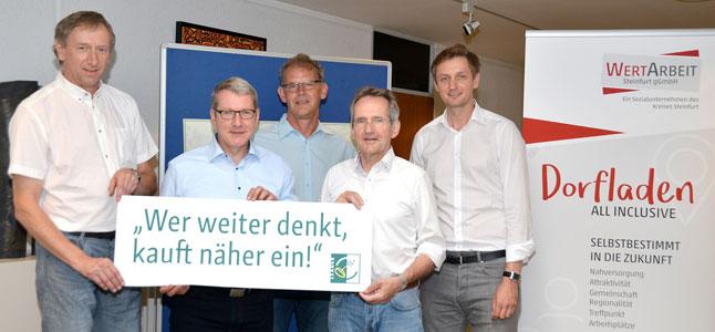 """Das LEADER-Projekt """"Dorfladen – all inclusive"""" startet mit vollem Tatendrang"""