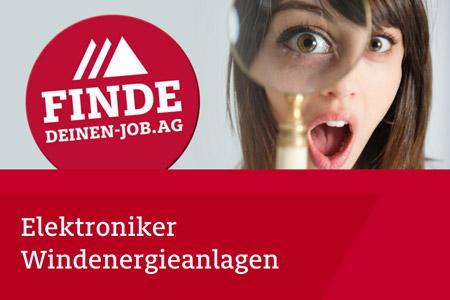 JOB AG Stellenangebot: Elektroniker Windenergieanlagen im Bereich Netzanbindung