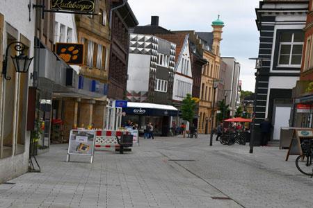Umbau der Münsterstraße in Rheine ist abgeschlossen