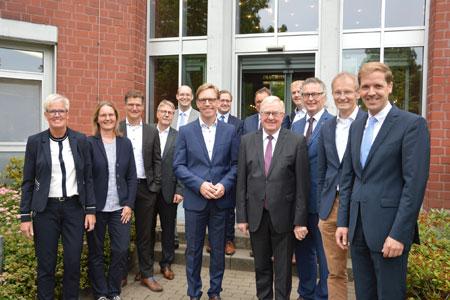 Stärkung der kommunalen Jobcenter - Münsterland-Runde diskutiert Koalitionsvertrag
