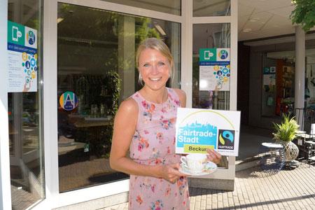 """Ein Jahr """"Fairtrade-Stadt Beckum"""""""