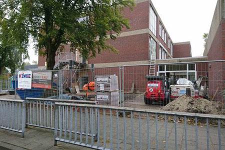 Im Dorenkamp in Rheine entsteht das neue Begegnungszentrum