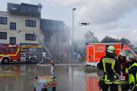 Aufbau des Deutschen Rettungsrobotik-Zentrums