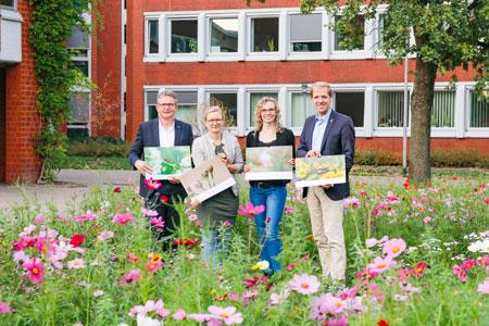Naturschutzzentrum, Wirtschaftsbetriebe, Kreis Coesfeld und KlimaPakt stellen ihr Öko-Engagement im Kalender vor