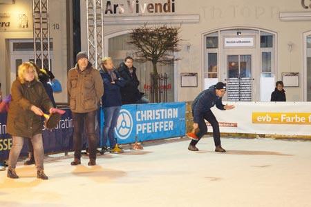 Eisstockschießen in Beckum: Jetzt anmelden!