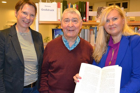Einfache Sprache, Großschrift und barrierfrei: Stadtbücherei Ahlen praktiziert Inklusion