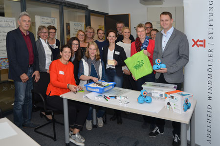 """""""Haus der kleinen Forscher"""" erhält Roboter für die Grundschulen im Kreis Steinfurt"""