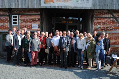 30 Jahre Partnerschaft zwischen dem Landkreis Mecklenburgische Seenplatte und dem Kreis Steinfurt