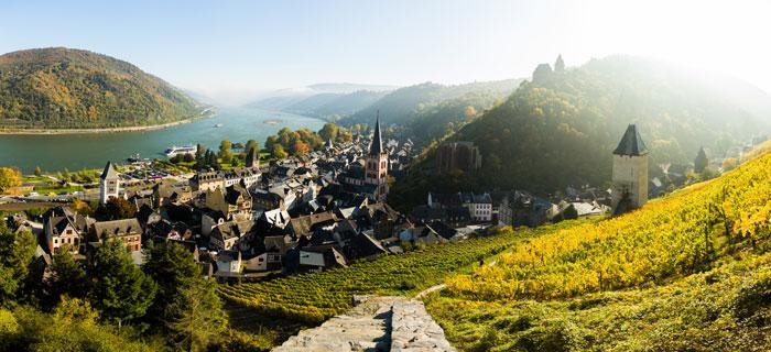 Die Region am Mittelrhein mit allen Sinnen entdecken
