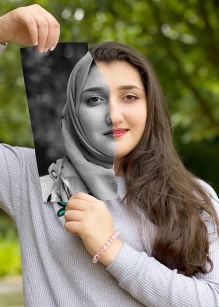 Der Zukunft ein Gesicht geben - Junge Geflüchtete gestalteten Fotoausstellung im Kreishaus