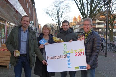 Münster will Fairtrade-Hauptstadt werden