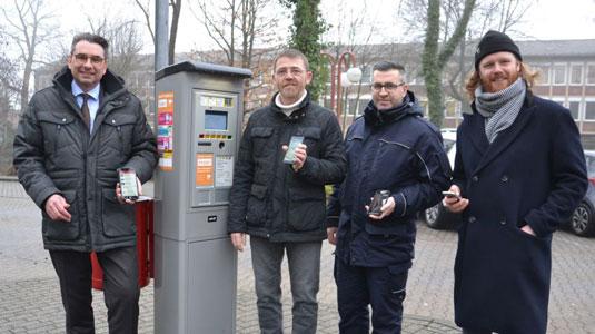 Parkgebühren digital mit dem Handy zahlen