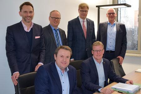 Stadt Rheine stellt die Weichen für die Zukunft mit dem Verkauf eines großen Gewerbegrundstückes