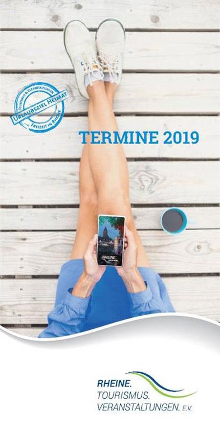 Termine 2019 - Neuer Veranstaltungskalender für Rheine erschienen