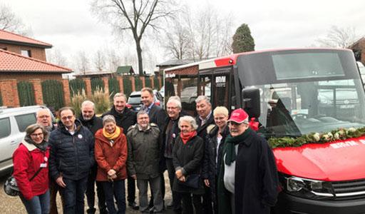 Neuer Bürgerbus mit Niederflursystem in Betrieb