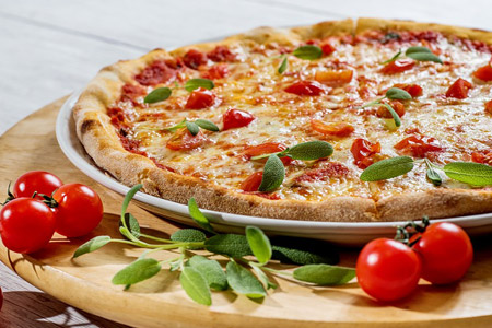 Leckere Pizza bei Pizzeria Torino in Münster