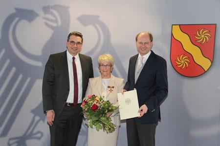 Waltraud Nolte mit dem Bundesverdienstkreuz ausgezeichnet