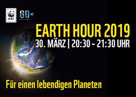 Licht aus, Klima schützen: Wer macht mit bei der WWF Earth Hour 2019?