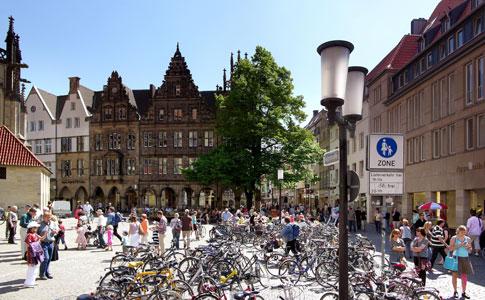 Leichte Zuwächse in Münsters Touristikbilanz: 1,34 Millionen Übernachtungen in 2018