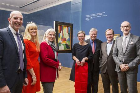 Gemälde von August Macke angekauft - LWL-Museum sichert zentrales Werk des westfälischen Künstlers