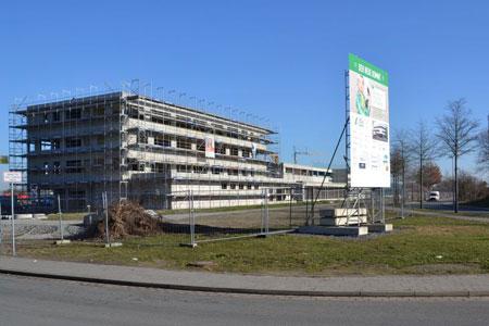 Vor dem Richtfest Führungen über neuen Baubetriebs- und Wertstoffhof in Ahlen