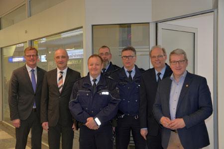 Neue Anlaufstelle für mehr Sicherheit in Rheine nimmt ihren Betrieb auf