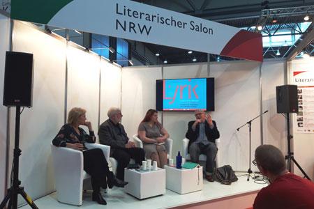 """Münsters Lyrikertreffen beim """"Literarischen Salon NRW"""""""